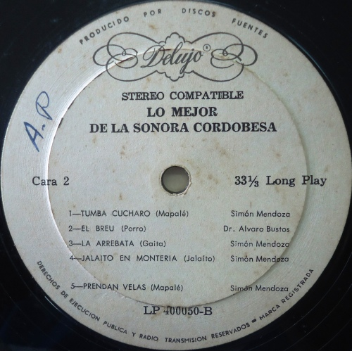 La Sonora Cordobesa Lo Mejor De La Sonora Cordobesa