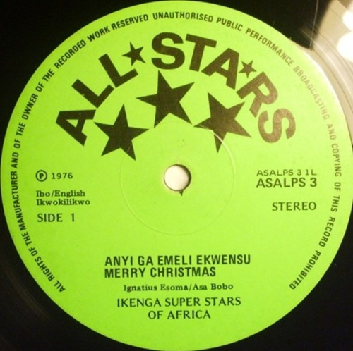 IKENGA SUPER STARS OF AFRICA - IKENGAS IN NIGERIA LADO A-